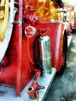 Fire Extinguisher On Fire Truck