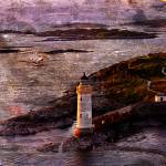 """Eilean Ban Lighthouse"" by ianjeffrey"
