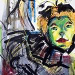 Expressive Homage To Henri De Toulouse-lautrec At