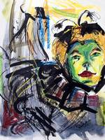 Expressive Homage To Henri De Toulouse-lautrec At