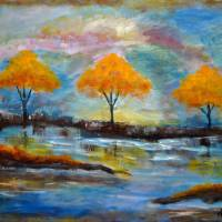 Abstract Trees by Lisa Rich