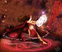Scarlet Witch Sorceress Supreme