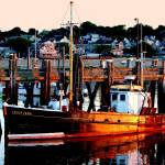 """""""Cape Cod Fishing Boat"""" by PJPHOTO"""