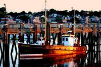 Cape Cod Fishing Boat