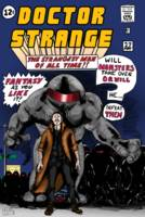 Dr. Strange Incredible Hulk 1 Homage