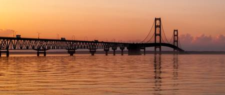 Mackinaw Bridge Panoramic