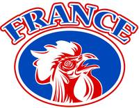 rugby rooster mascot france
