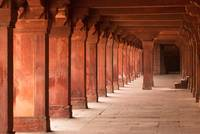 Hallways of Fatehpur Sikri