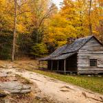 """Cabin in the smokies"" by shrenik"