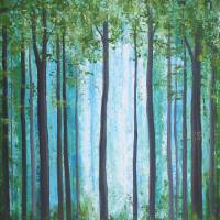 Light Through Tall Trees Art Prints & Posters by S McLean