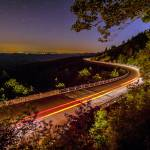 """linn cove viaduct at night"" by digidreamgrafix"