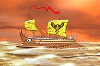 7th to the 4th century BCE Greek Trireme