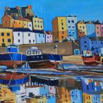 """Tenby Reflection"" by emmacownie"