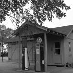 """""""Road Side Gas Station"""" by quietwhispers"""