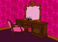 Schmuschis dressing table