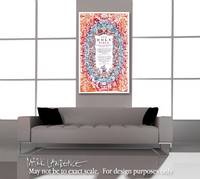 Large Modern Bible Inspired Art- 1600's King James