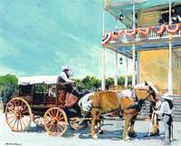 Stagecoach At The Cosmopolitan Hotel