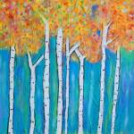 """""""Aspens in Fall"""" by SimplyColor"""