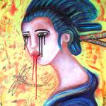"""Crying Geisha Tears"" by ArtPrints"