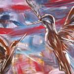 """Hummingbirds"" by gallerymay"