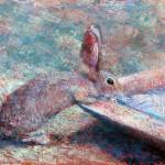 """Thirsty Bunny"" by juliapatt"