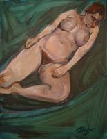 Naked Portrait 2 after Lucian Freud