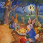 """Rabbits Gone Camping"" by MattO68"