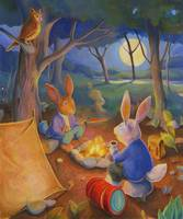Rabbits Gone Camping