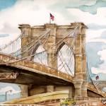 """""""Brooklyn Bridge-Still Standing"""" by clovia"""