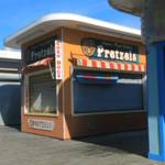 """""""Pretzel Booth in Seaside Heights, New Jersey"""" by newimage"""