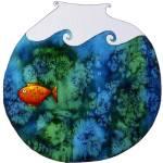 """Goldfish in Bowl"" by julienicholls"