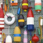 """Lobster Buoys 2"" by roxanebay"