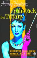 German poster of Breakfast at Tiffany´s