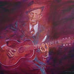 """ROBERT JOHNSON BLUESMAN"" by DavidLloydGlover"