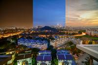 Night And Day of KL Skyline