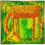 """""""Patterned Giraffe"""" by julienicholls"""