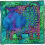 """""""Patterned Hippo"""" by julienicholls"""