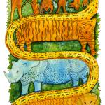 """Jungle Animals"" by julienicholls"