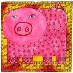 """Patterned Pig"" by julienicholls"