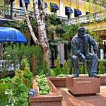 """Yalta   Hotel Oreanda Statue"" by RickTodaro"