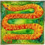 """""""Patterned Snake"""" by julienicholls"""