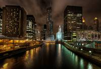 Chicago River by Night