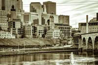 The Mill City - A Study in Sepia