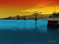 The Belle of Louisville@sunset