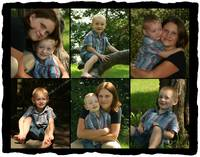 Connor and Mommy Collage