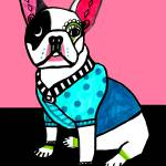 """french bulldog"" by hgaller"