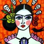 """Frida Day of The Dead"" by hgaller"