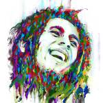 """Bob Marley"" by saurabhdey"