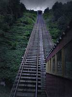 Johnstown Incline Railway In The Rain