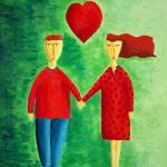 """""""Couple in Love"""" by julienicholls"""